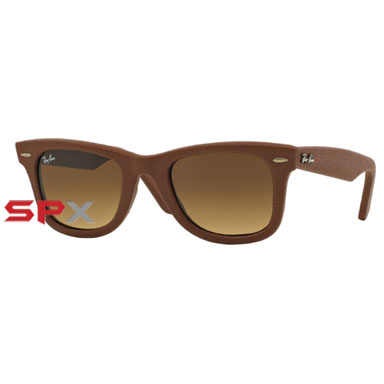 Ray Ban RB2140QM 1169/85 Wayfarer Leather