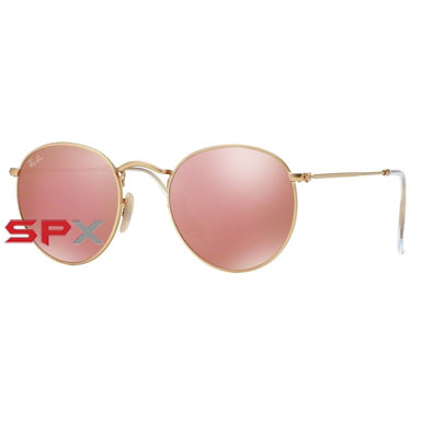 Ray Ban RB3447 112/Z2 Round Metal