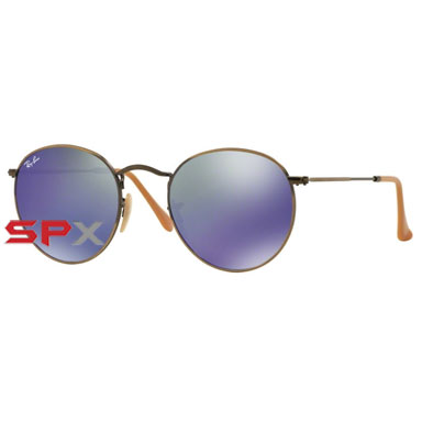Ray Ban RB3447 167/68 Round Metal