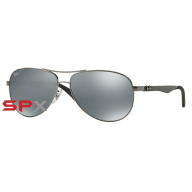 Ray Ban RB8313 004/K6 Carbon Fibre Polarized