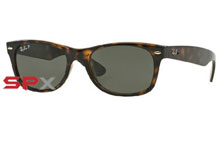 Ray Ban RB2132 902/58 New Wayfarer Polarized
