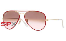 Ray Ban RB3025JM 001/X3 Aviator Photochromic