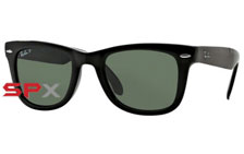 Ray Ban RB4105 601/58 Folding Wayfarer Polarized