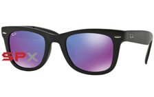 Ray Ban RB4105 601S/1M Folding Wayfarer